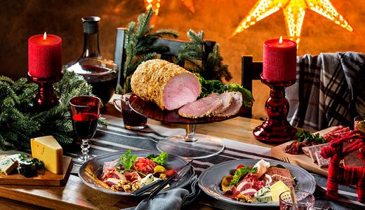 IKEAのクリスマスパーティー ハム食べ放題