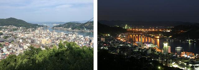 千光寺山の夜景はカップルにおすすめ