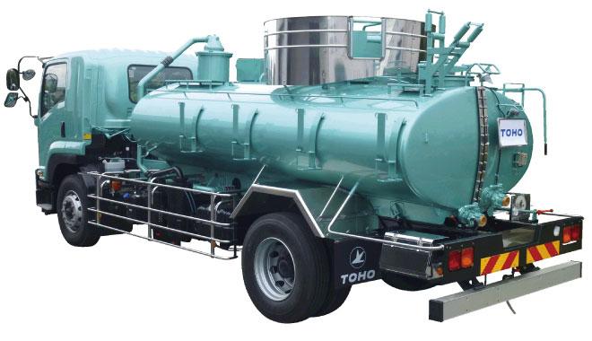 汲み取り式バキュームカー