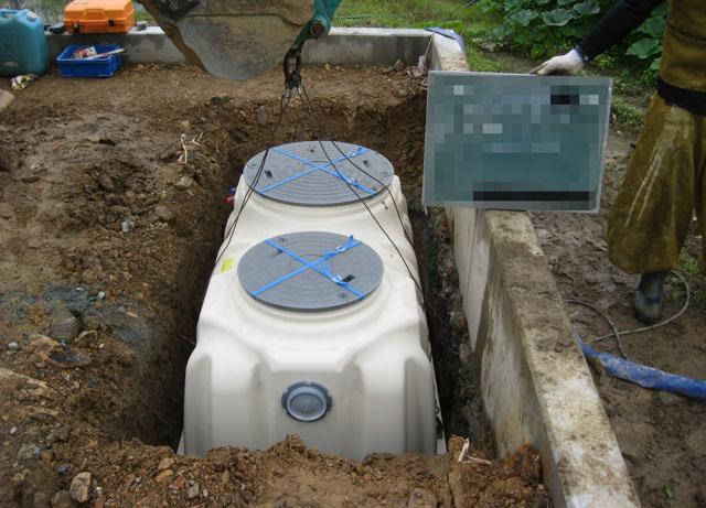 浄化槽の新規設置に100万円