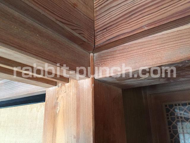 檜で造られた古民家