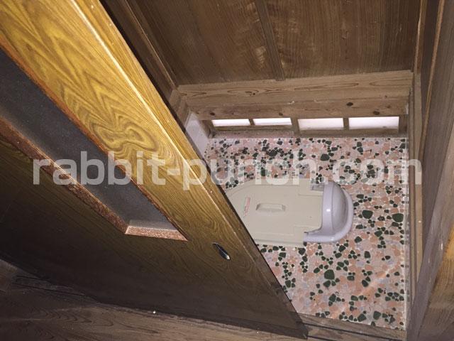 和式汲み取りトイレ