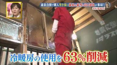 「幸せ!ボンビーガール」の空き家リノベ企画で使っていた断熱材