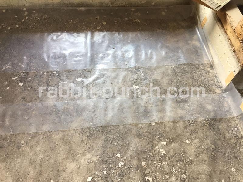 土間コンクリートの下に防水防湿シートは必要?