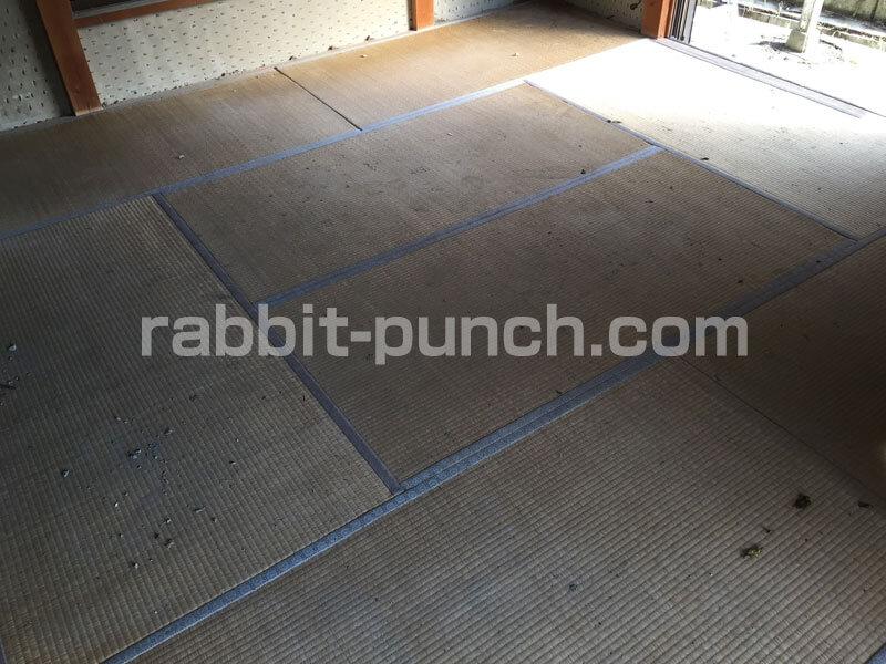 8畳の和室の畳
