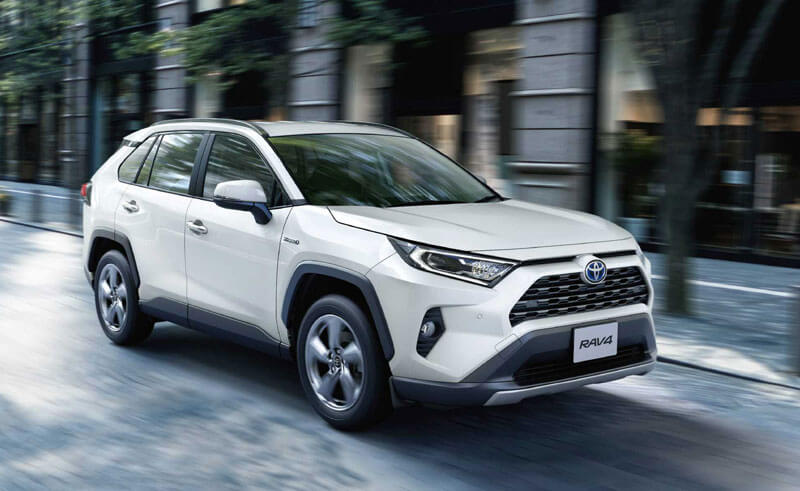 "RAV4(G""Z package"")の特徴"