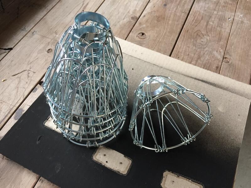 クリップライト用のランプガード