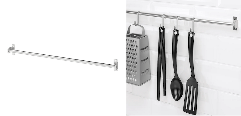 IKEAのキッチンツールフック「クングスフォルス」