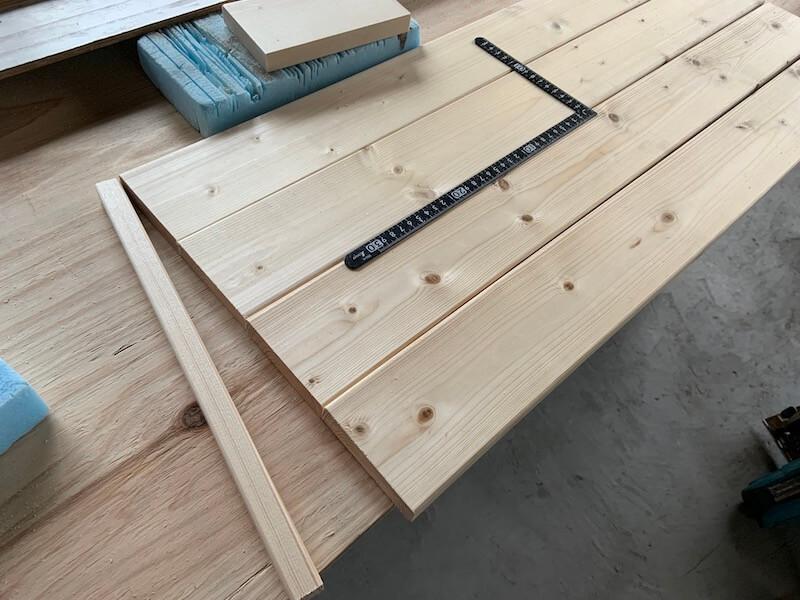 取り外し可能な棚板を作る